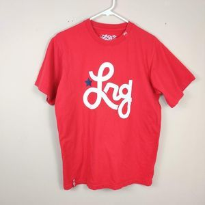 Lrg Lifted Research Group Red T-Shirt